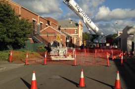 Woodville Town Hall Truss Failure Safety